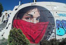Mural homenaje a Gata Cattana