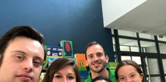 Iberdrola visita a la Fundación Down Madrid