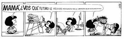 Viñeta corta de Mafalda